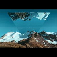 Foto Bilder Dreieck Geometrie Landschaft