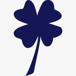 Escudo de la suerte / España / Trébol y banderola
