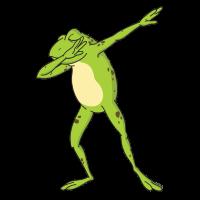 Frosch Dab-Ich hasse menschen