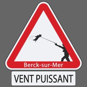 Berck-sur-mer: Vent puissant IV