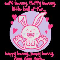 soft bunny, fluffy bunny, little ball of fur...