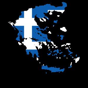 Greece Griechenland Griechisch Flagge Ländershirt