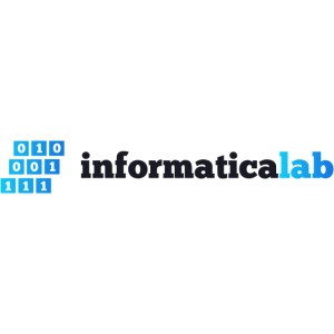 InformaticaLab logo for white background