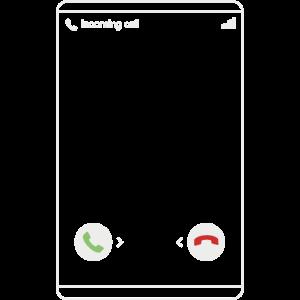 Eingehender Anruf - Incoming Call