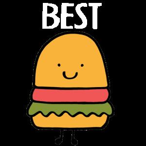 Best Friends, Beste Freunde, Partnershirt, Burger