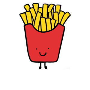Best Friends, Beste Freunde, Partnershirt, Pommes