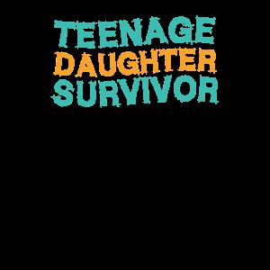 Jugendliche Tochter Überlebender Papa Vater Lustig