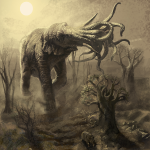Cthulhuphant by Niel Venter