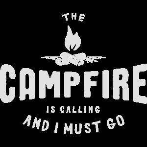 Pfadfinder Camping Lagerfeuer