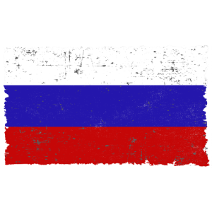 Russland Flagge Россия used look Geschenkidee