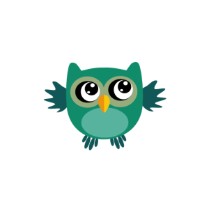 Suesse Eule owlways right