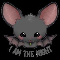 Ich bin die Nacht - süsse Fledermaus