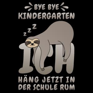 Faultier Spruch Kindergarten Schule Einschulung