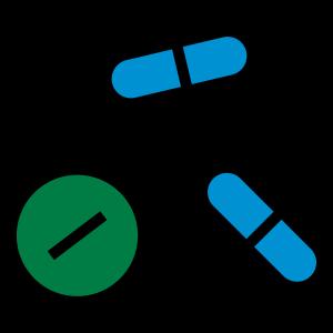 Pillen, Medikamente, Medizin, Drogen