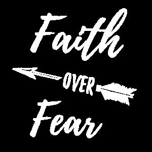 Glaube über die Angst B