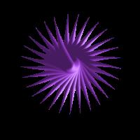 Mandala violett