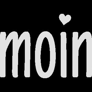 Moin Herz - norddeutscher Gruß