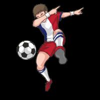 Frankreich Dabbing Fußball Spieler Dab Geschenk