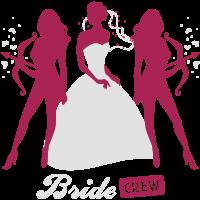 Braut - Crew - Junggesellinnenabschied -