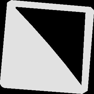 Halb gefülltes Quadrat