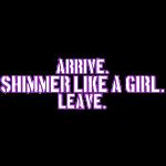 arriveshimmerleave