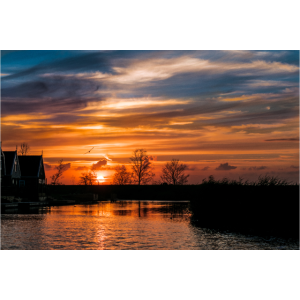 Sonnenuntergang - Niederlande
