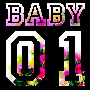 BABY 01 GESCHENK FÜR FREUNDIN PARTNERLOOK PAARE