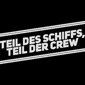 Crew Freunde Spruch