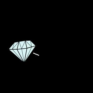 GLANZ oder gar nicht, mit Diamant, Glamour