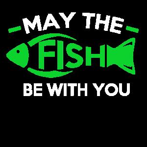 """Design """"Möge der Fisch bei dir sein"""""""