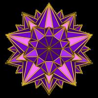Galaktischer Stern (violett)