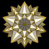 Galaktischer Stern (silber)