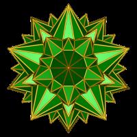 Galaktischer Stern (grün)