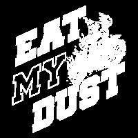 Essen Sie mein Staub-T-Shirt Motocross-Radfahrer-Geschenk