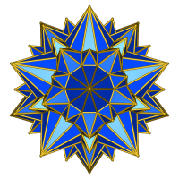 Galaktischer Stern (blau)