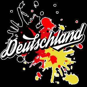 Deutschland Sport Fußball Flagge Fahne