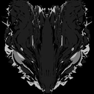 rat grey black