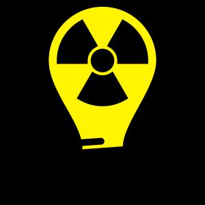radioaktive Glühbirne