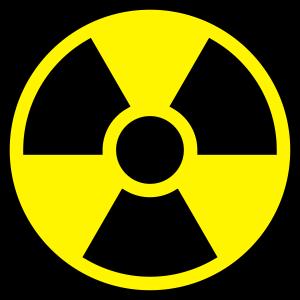 Atomkraft Symbol - Radioaktivität