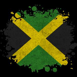 Jamaika Jamaica Klecks Karibik Geschenk