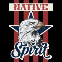 Adler Einheimischer Geist