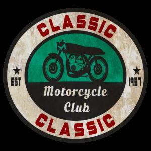 Motorcycle Club Classic Vintage Motorrad Geschenk
