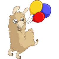 Geburtstags Alpaka