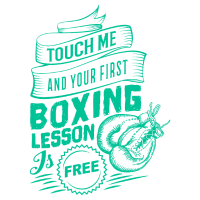 Touch me and your first Boxing Lesson is Free