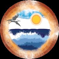 Sommerlaune - Möwe
