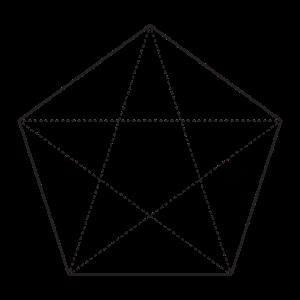 Minimalistisches Pentagon