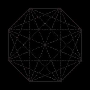Minimalistisches Oktagon