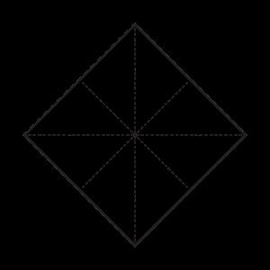 Minimalistisches Quadrat