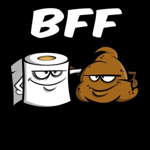 BFF - Best friends for ever - Geschenkidee Freunde