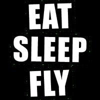 Essen schlafen fliegen